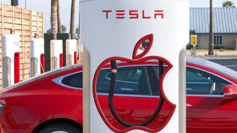 Why Apple Would Have the Inside Track on Buying Tesla