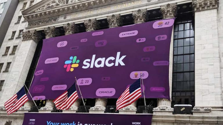 Slack Technologies Drops After D.A. Davidson Lowers Price Target