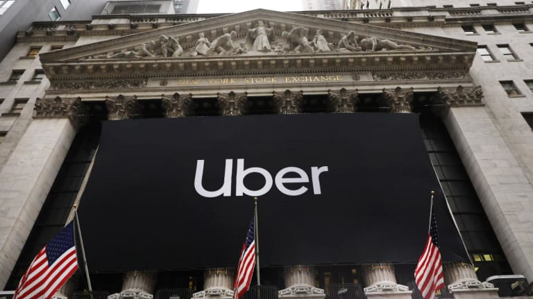 Uber Shares Rise as Company Loses Less Money Than Expected