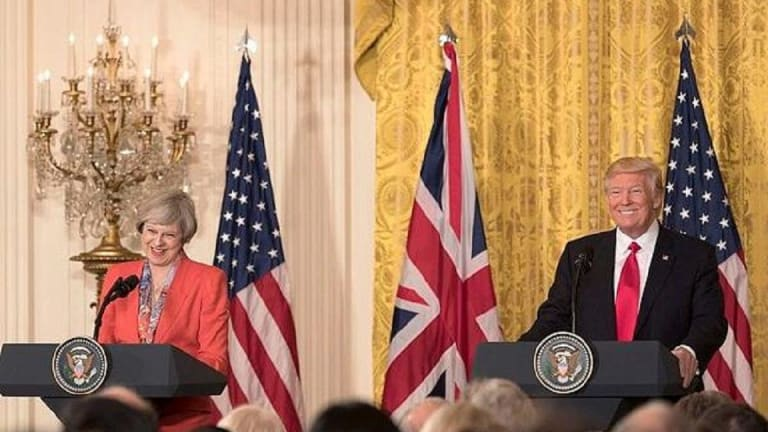 President Trump Arrives for UK State Visit; Plans Trade, Security, Brexit Talks