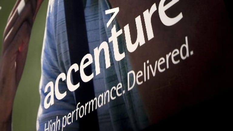 Accenture Fizzles as IT Giant Projects Slower Growth