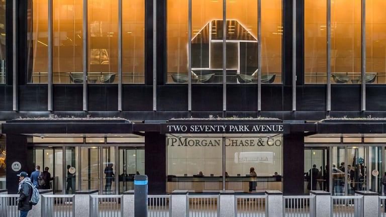 JPMorgan Beats Profit Estimates on Tax Benefit, Faster Credit Card Lending