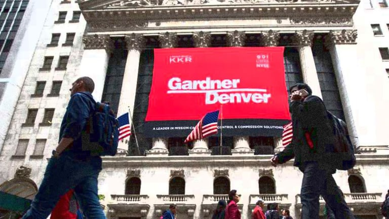 Gardner Denver Confirms It Will Combine With Ingersoll-Rand Division