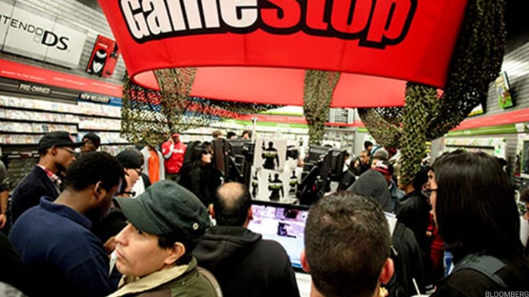 GameStop Climbs on Report P/E Firms Are Bidding for the Videogame Retailer