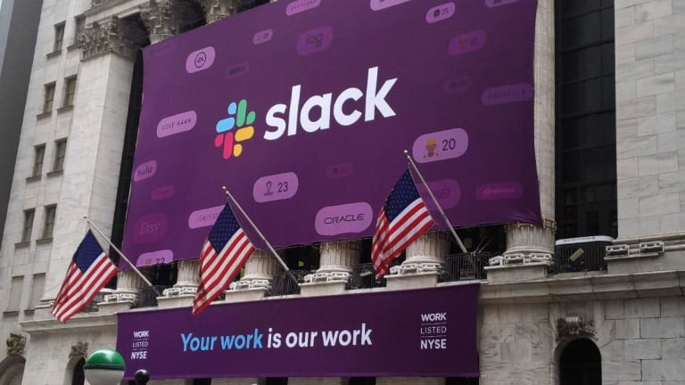 Slack Shares Pop in NYSE Trading Debut, Close the Day Up Nearly 50%