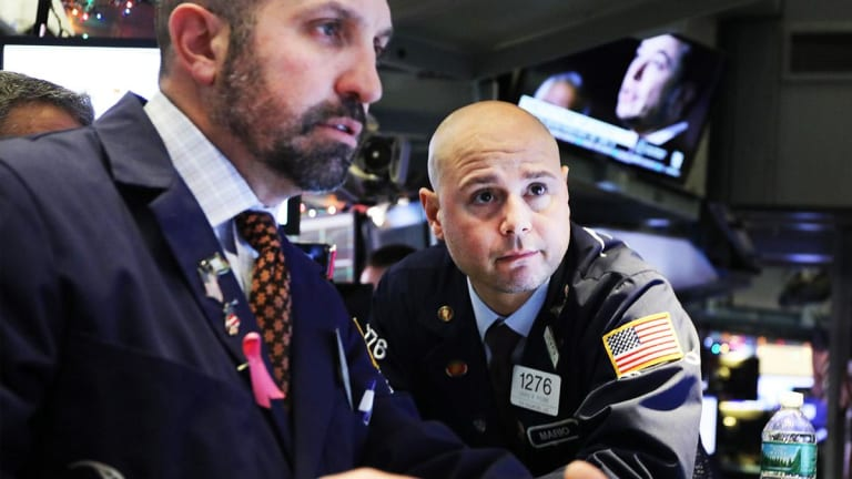 Stocks End Down in Afternoon Trading Ahead of Microsoft, Facebook Results