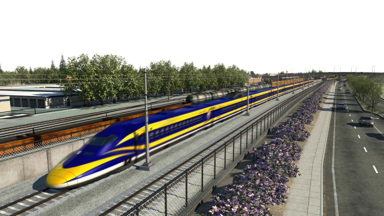 Calif. Gov. Newsom Wants to End High-Speed Rail Program to Link LA and SF
