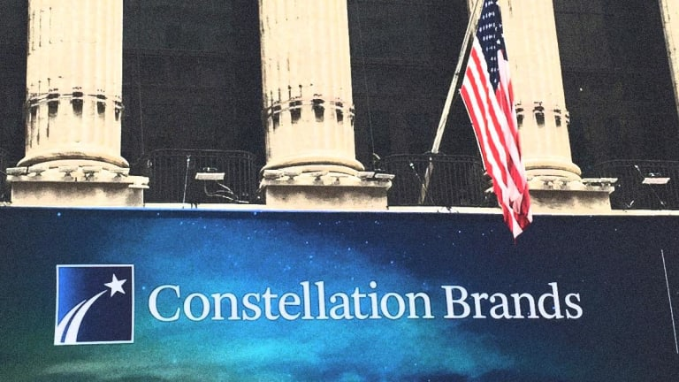 Constellation Brands Stock Is Getting Absolutely Hammered