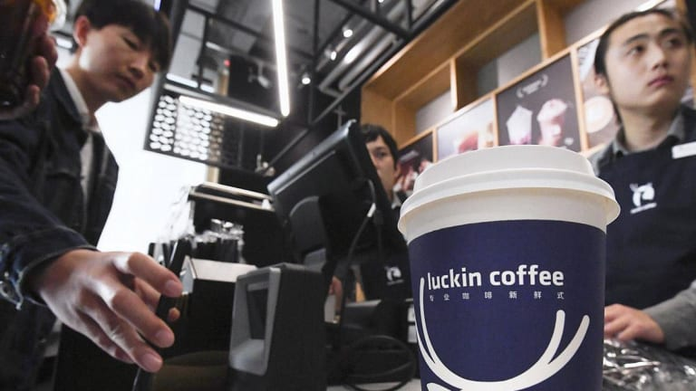 Luckin Coffee IPO Values Starbucks' China Rival at $4.2 Billion on Nasdaq Debut