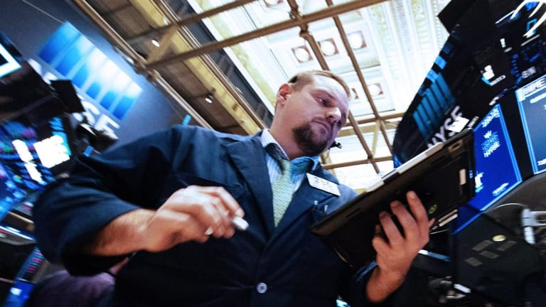 Stocks End Lower Friday Ahead of Busy Earnings Week