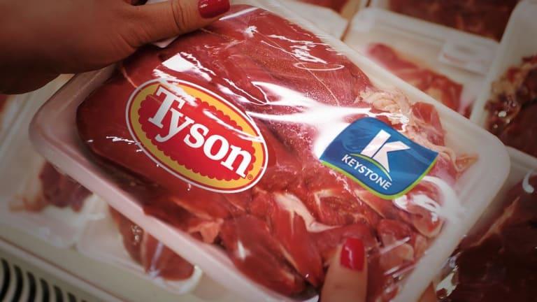 Tyson Foods Slumps After 'Discrete Challenges' Lead to 2019 Profit Forecast Cut