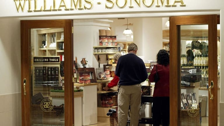 Williams-Sonoma Climbs on Earnings Win, Guidance Upgrade