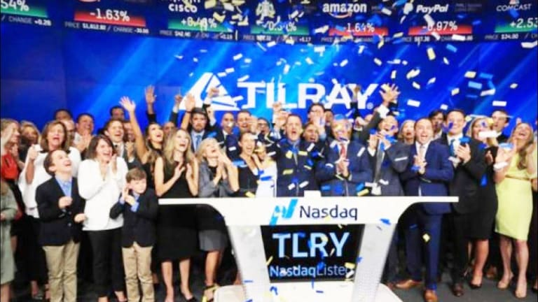 Tilray Falls as July 2018 IPO Lock-Up Expires for Cannabis Group