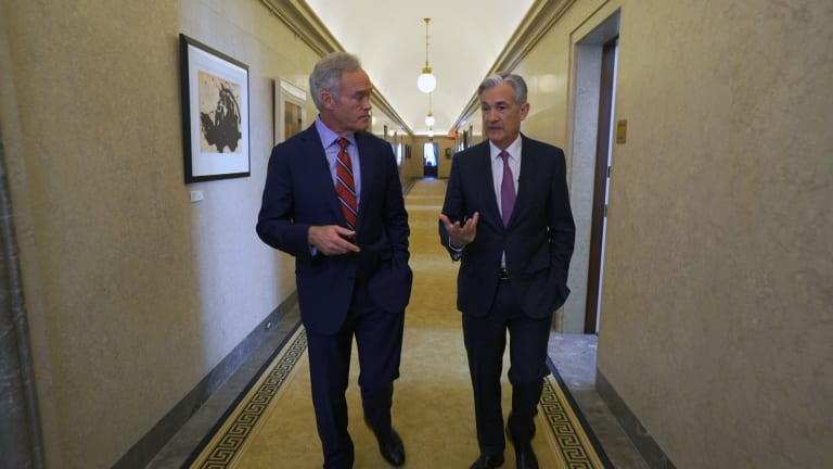 Powell 'Patient' on Rates, Wary of Low U.S. Mobility in '60 Minutes' Interview