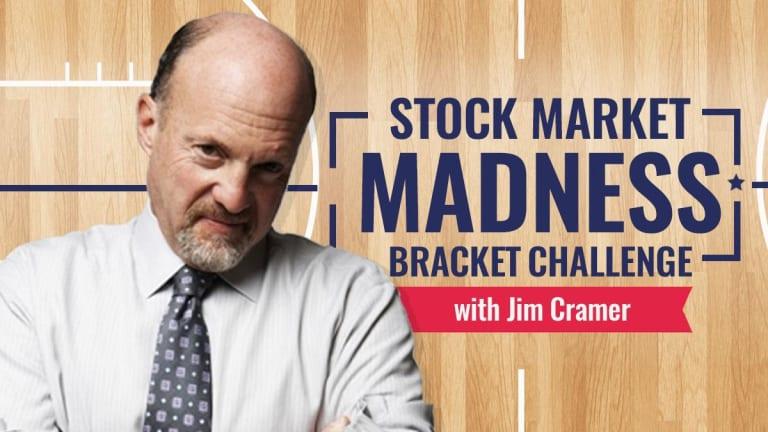 Jim Cramer Picks His Market Madness Bracket Challenge Winner