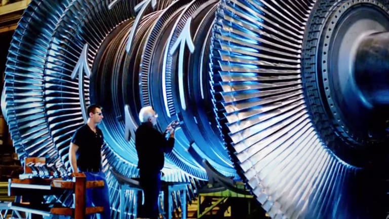 General Electric Rises as Analyst Notes Industrial Giant's 'Meaningful Progress'