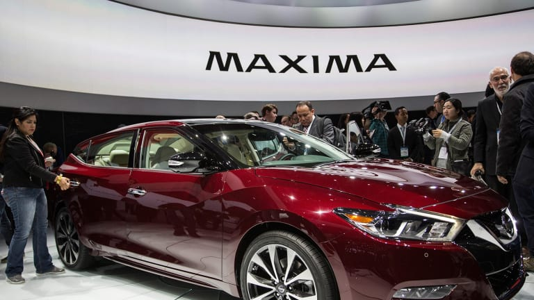 Nissan Unveils New Maxima Design, Outpaces Honda in U.S. Sales