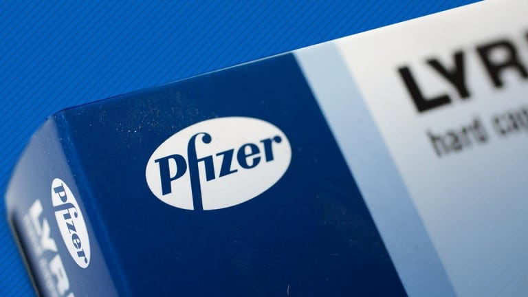 Pfizer Edges Higher After Positive Trials for Moderate-to-Severe Eczema Drug