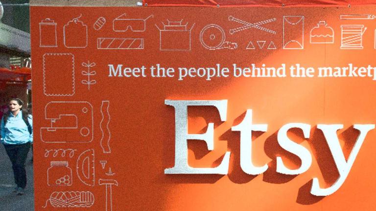 Etsy Shares Slide on Second-Quarter Revenue Miss