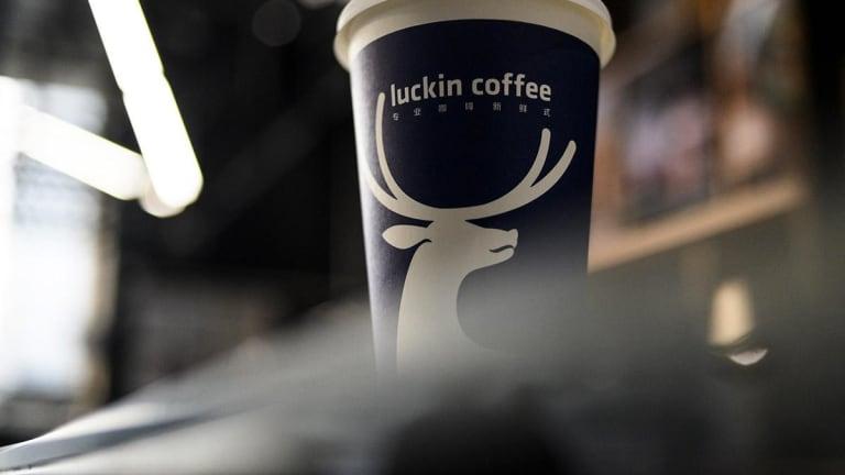 Luckin Coffee Rises Sharply in Trading Debut