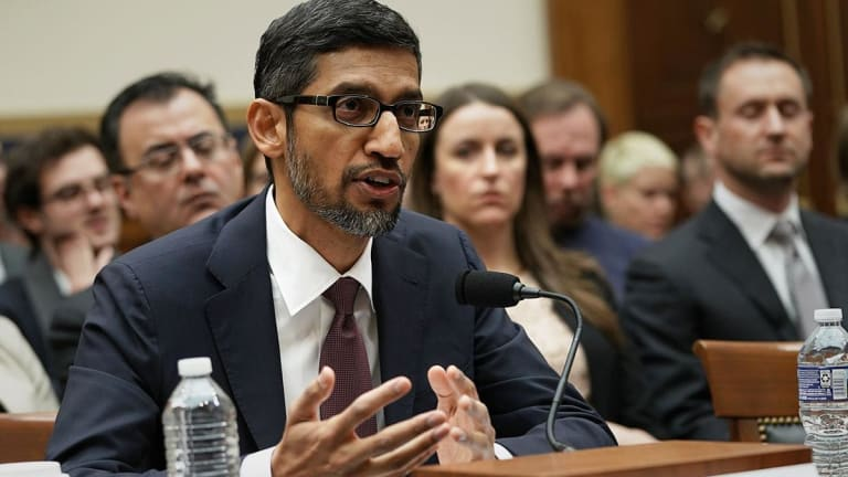 Google CEO Gets Grilled By Congress on Political Bias, Privacy of User Data