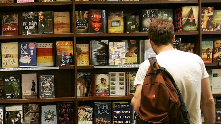 Barnes & Noble Shares Off; Fourth-Quarter Loss Narrows on Lower Sales