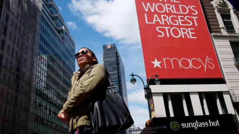 Macy's Falls After Guggenheim Downgrades Retailer to Neutral
