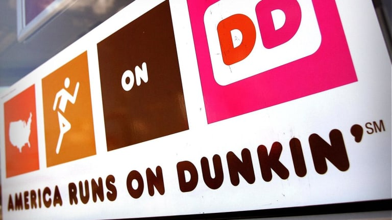 Dunkin' Brands Shares Sweetened by Rating Upgrade