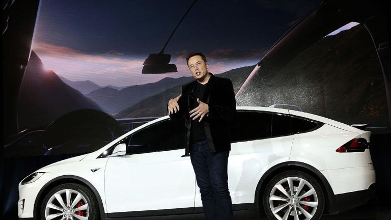 Tesla Stock Rallies on Sigh-of-Relief Earnings Results