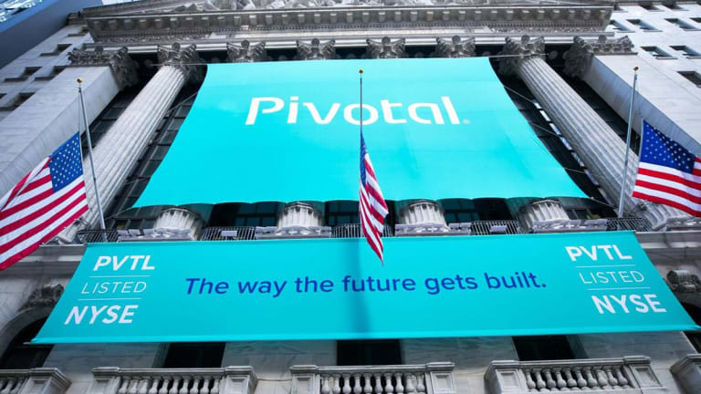 Pivotal Soars After-Hours on Disclosure of Acquisition Talks With VMware