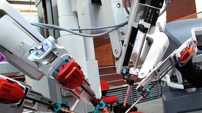 Intuitive Surgical Surges After Robotic Surgery Company Beats Estimates
