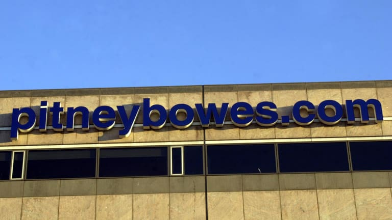 Pitney Bowes Rallies on Deal to Sell Software Business for $700 Million