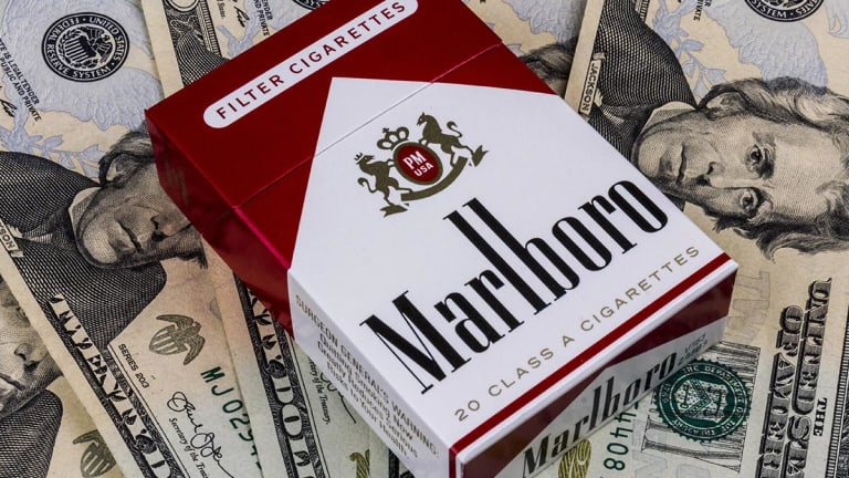 Philip Morris Lights Up After Marlboro Maker Beats Analysts' Expectations