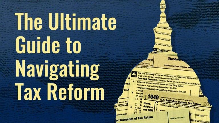FREE WEBINAR. TheStreet and TurboTax on Navigating Tax Reform