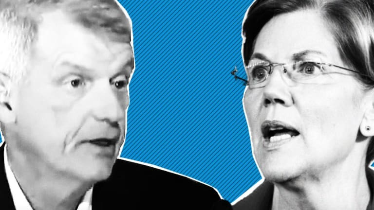 Wells Fargo CEO's Retirement Placates a Senator - and Grumpy Investors