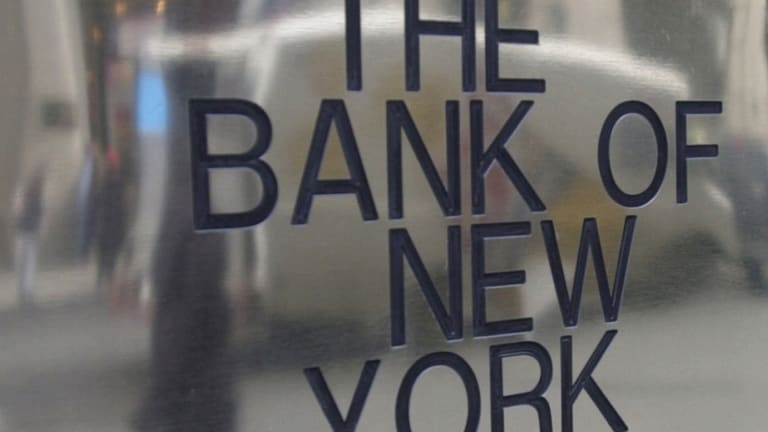 Bank of New York Begins a Healthy Pullback
