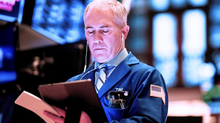 Stocks End Higher as Bond Easing Tempers Recession Fears