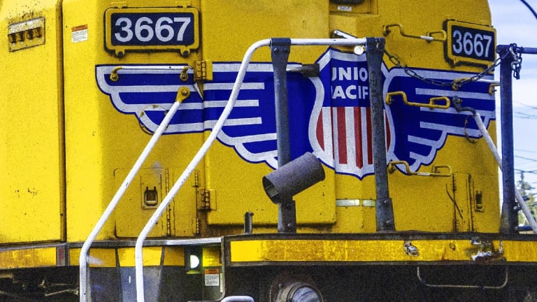 Union Pacific Rallies 6.2% After Earnings Beat, But Freight Volumes Slide