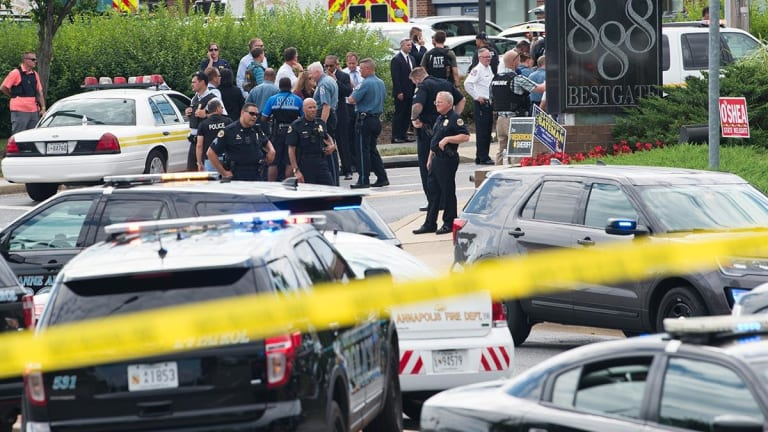 Capital Gazette Vows To 'Put Out The Damn Paper' After Five Slain in Newsroom