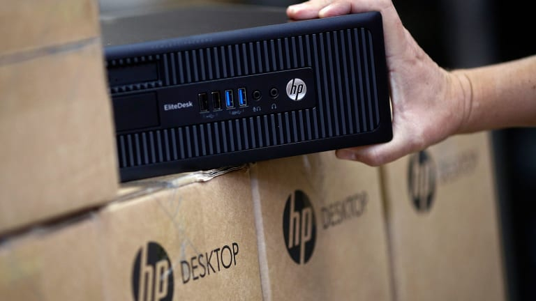 Here's Why HP Stock Soared Today -- Tech Roundup