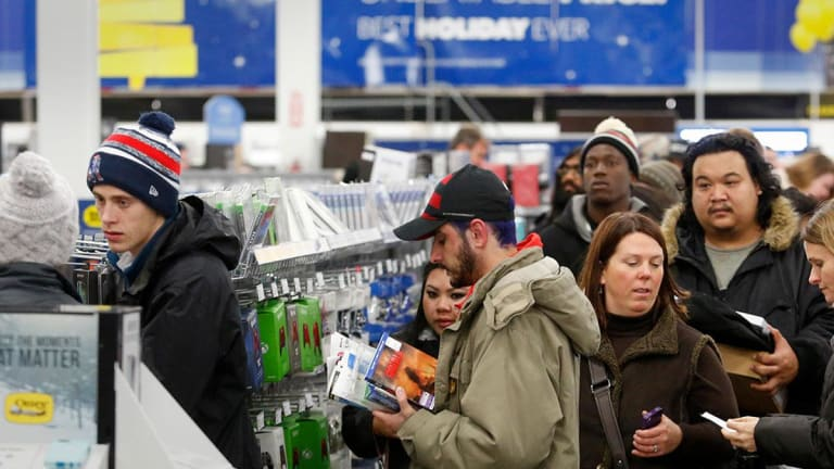 Retail Sales Surge in November as Cheap Gas, Black Friday Records, Fuel Shoppers