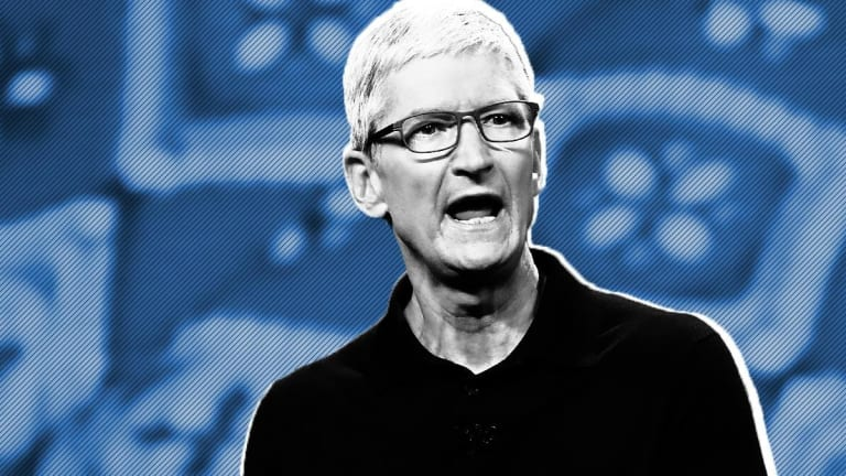 Apple CEO Tim Cook to Investors: Get in for the Long Haul, or Move On