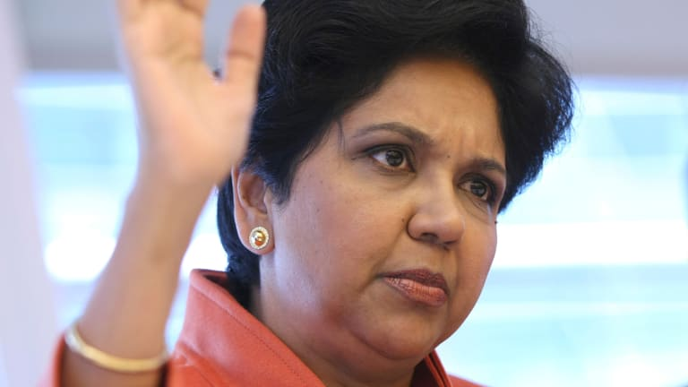 PepsiCo CEO Indra Nooyi Passes the CEO Baton at Crucial Time