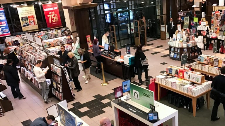 Barnes & Noble Says It's Weighing Takeover Offers