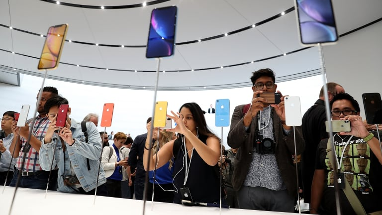 Apple Edges Higher as Launch Event Unveils New iPhones, Highlights AppleWatch