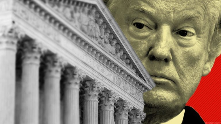 Trump Preps for Supreme Court Announcement