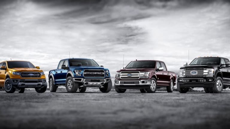 Ford Betting Big on Trucks, SUVs and Hybrids