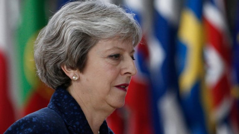 UK Prime Minister Theresa May Survives Leadership Challenge; Pound Rallies