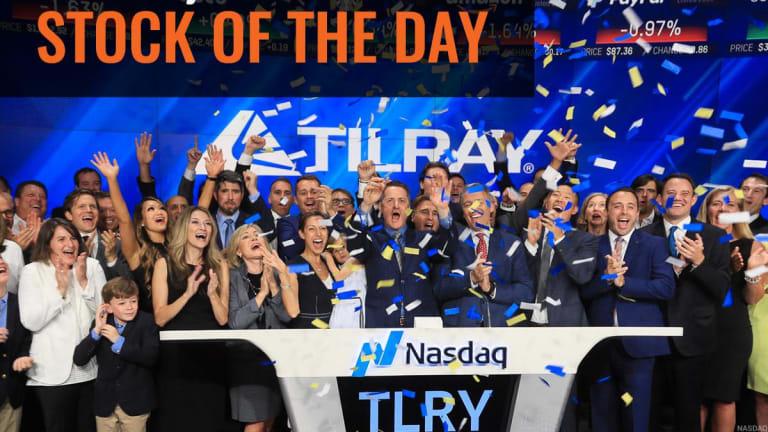 Tilray Slips as Revenue Misses and EPS Is a Little Better Than Estimates