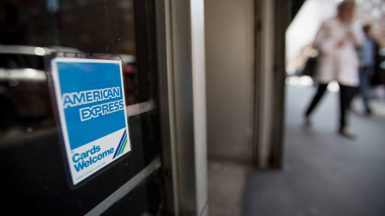 Don't Put American Express Stock on Your Credit Card
